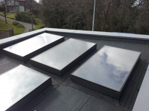 Viridian Clearline Flat Roof