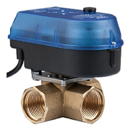 3 Port High Temperature Motorised Valve.