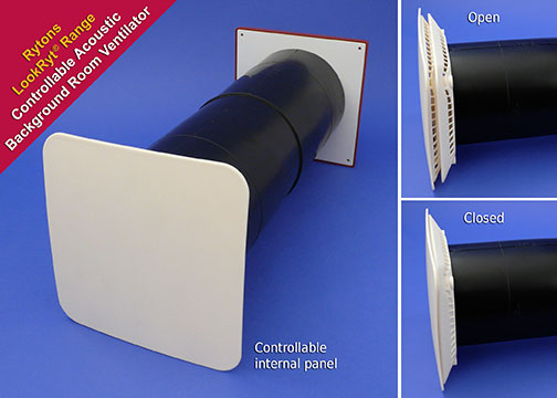 Greentherm Super Acoustic Controllable Wall Vent